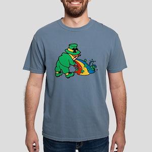 drunk-leprechaun Mens Comfort Colors Shirt