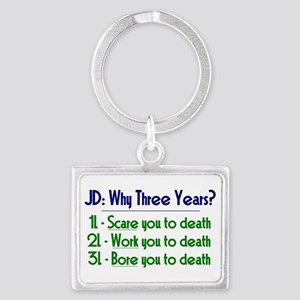 JD = Three Years Keychains