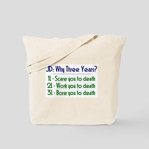 JD = Three Years Tote Bag
