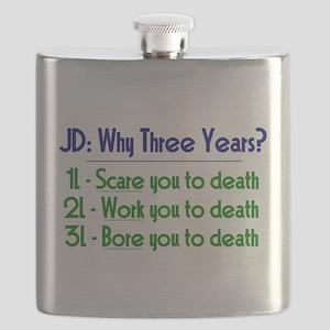 JD = Three Years Flask