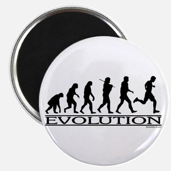 Evolution (Man Running) Magnet