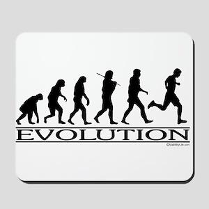 Evolution (Man Running) Mousepad