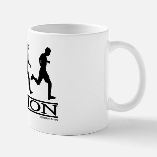 Evolution (Man Running) Mug