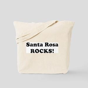 Santa Rosa Rocks! Tote Bag
