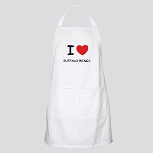 I love buffalo wings BBQ Apron