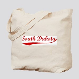 Red Vintage: South Dakota Tote Bag