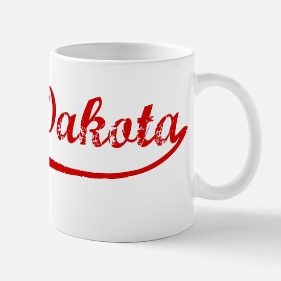 Red Vintage: South Dakota Mug