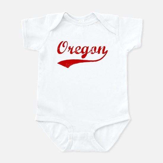 Red Vintage: Oregon Infant Bodysuit