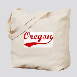Red Vintage: Oregon Tote Bag