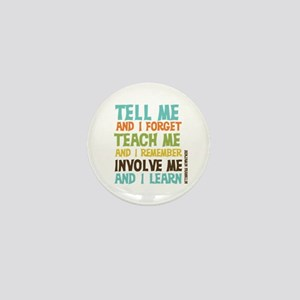 Involve Me Mini Button