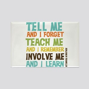 Involve Me Rectangle Magnet (10 pack)