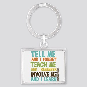 Involve Me Landscape Keychain