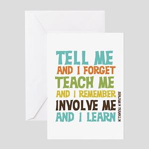 Involve Me Greeting Card