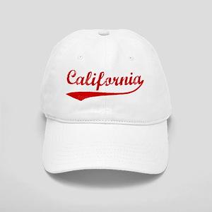 Red Vintage: California Cap