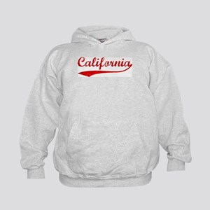 Red Vintage: California Kids Hoodie