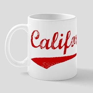 Red Vintage: California Mug