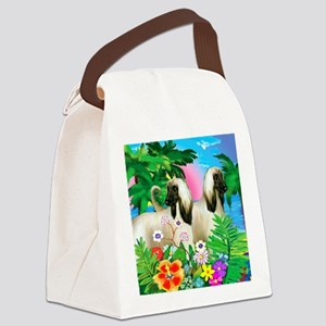 afghanhound3 copy Canvas Lunch Bag