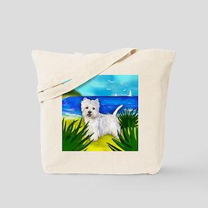 westiebeach copy Tote Bag