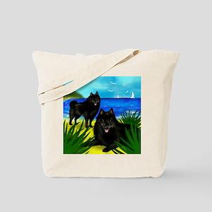 schipperkedogsbeach copy Tote Bag