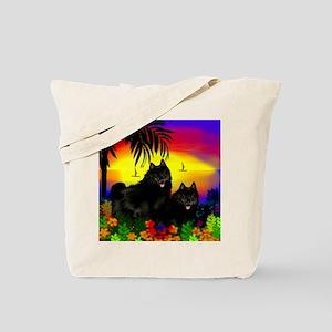 schipperkesunset copy Tote Bag