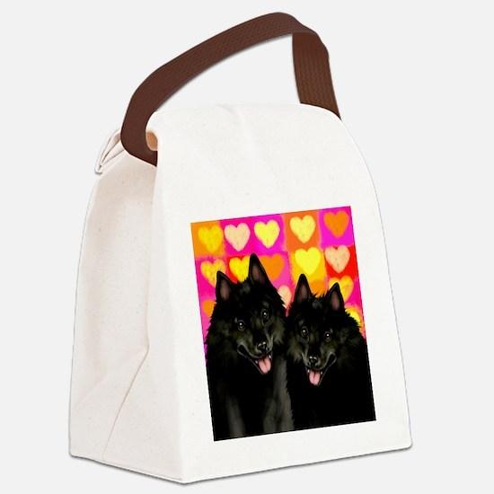 schipperkelove copy Canvas Lunch Bag
