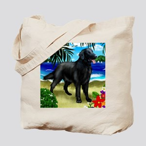 flatcoatretriever2 copy Tote Bag