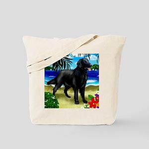 flatcoatretriever3 copy Tote Bag