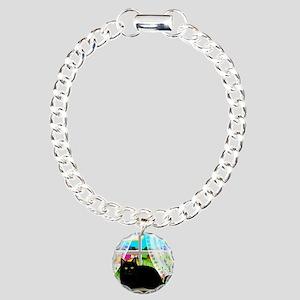 blcatwindow copy Charm Bracelet, One Charm