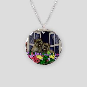 windowcairn copy Necklace Circle Charm