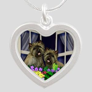 windowcairn copy Silver Heart Necklace