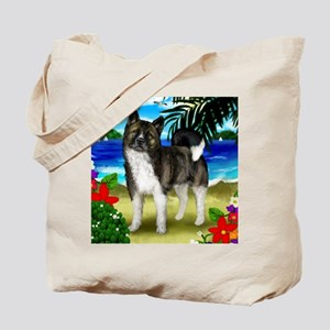 akitabrindlebeach copy Tote Bag
