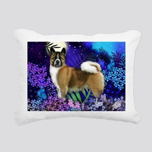 akitabrindlemoon2 Rectangular Canvas Pillow