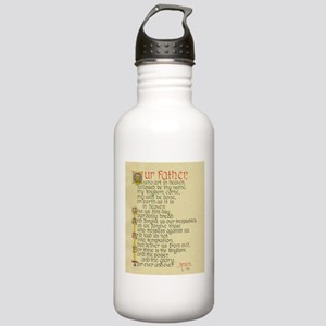 Lords Prayer2 Water Bottle
