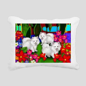 eskiprintlake Rectangular Canvas Pillow