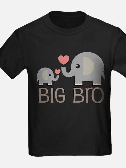 Big Bro Elephant Sibling T-Shirt