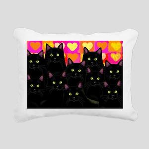 blackcatslove Rectangular Canvas Pillow