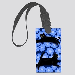 blcats copy Large Luggage Tag