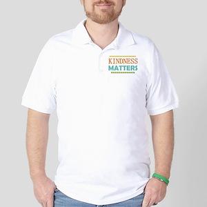 Kindness Matters Golf Shirt