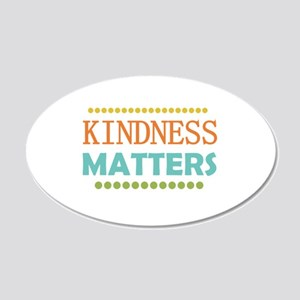 Kindness Matters 20x12 Oval Wall Decal