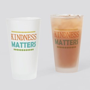 Kindness Matters Drinking Glass