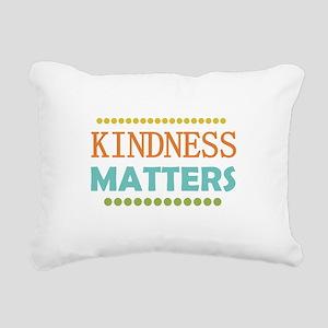 Kindness Matters Rectangular Canvas Pillow