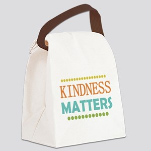Kindness Matters Canvas Lunch Bag