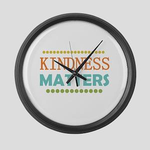 Kindness Matters Large Wall Clock