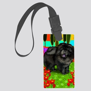 blchow copy Large Luggage Tag