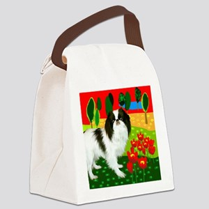 JCclock copy Canvas Lunch Bag