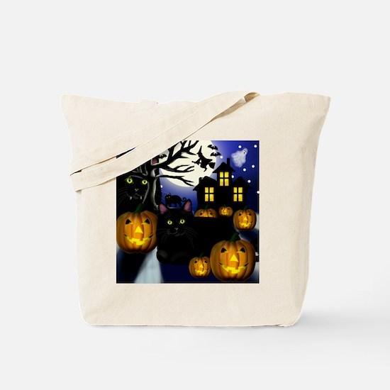halloweencats copy Tote Bag