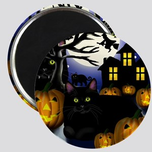 halloweencats copy Magnet