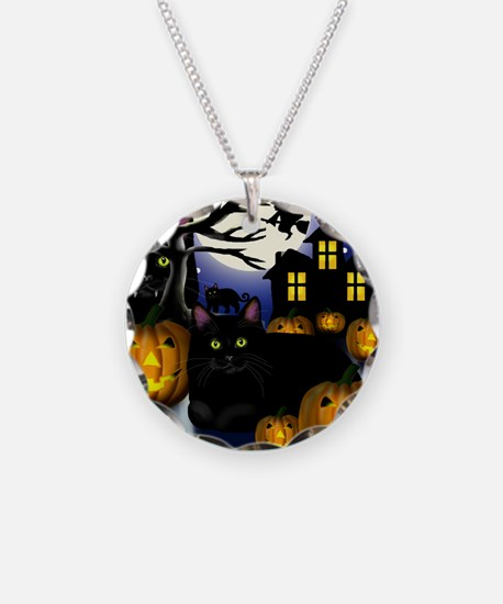 halloweencats copy Necklace