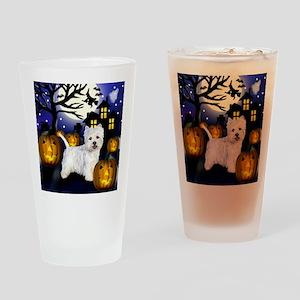 westiehalloween pcopy Drinking Glass