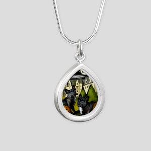 frbulldogcastlepump copy Silver Teardrop Necklace